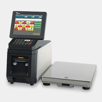 Shop floor: Bakery | DIGI | Scale, Label printer, Wrapping system