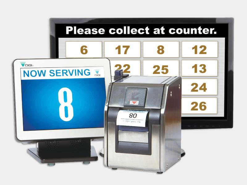 Xếp hàng thanh toán với Cân điện tử thông minh DIGI SM5500